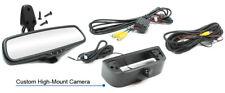 3rd Brakelight Backup Camera & 2-Input 4.3 Display Mirror For 15-18 City Express
