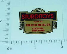 Sturditoys Floor Plate Replacement Sticker       SD-001