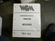 Kubota MX5000 MX 5000 tractor service & repair manual