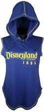 Disneyland Resort 1955 Disney Parks Mickey Mouse Hooded Blue Tank Top XL