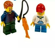 Lego City Creator Dad and Son Fishing Trip Minifigures x2 from 31098 New