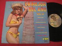 RARE LATIN CHEESECAKE LP - LO MEJOR DE ANO VOL 14 - VICTORIA COLOMBIA IMPORT