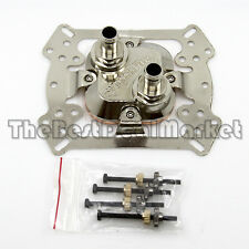 """Water Cooling CPU Block Copper 52X52mm 3/8"""" OD Barb For Intel AMD Xeon US Seller"""