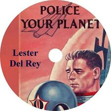 Police Your Planet, Lester Del Rey Sci-Fi Action Adventure Audiobook on 1 MP3 CD