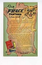 Great West True Stories The Fierce Panther Curt Teich Postcard