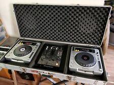 Lot régie DJ CD MP3 - Pioneer CDJ 800 mk2 / DJM 400 flycase