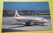 Air Resorts Airlines Convair CV-580 N7743U Aircraft Airline Postcard
