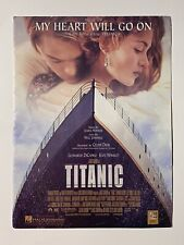 My Heart Will Go On Piano Sheet Music, Titanic Celine Dion James Horner
