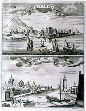 Antiguo Mapa, statt Candia & statt Canea