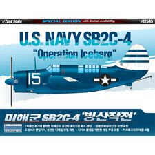 Academy 1/72 US Navy SB2C-4 Operation Iceberg 12545 Aircraft Plastic Model Kit