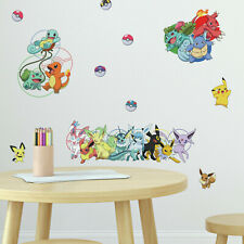 RoomMates Pokemon Pikachu Wandtattoo Sticker Wandkleber Aufkleber