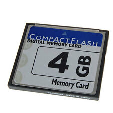 4GB CF Compact Flash Memory Card for NIKON D100 D200 for Canon EOS 400D Cam
