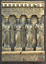 Griechischer Wandrelief Relief 3D Mäander Bild Wandbild Skulptur Antik Stuckgips