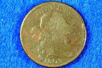 Estate Find 1802 Draped Bust Large Cent!! #F9266