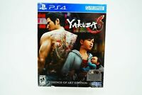 Yakuza 6 The Song of Life Essence of Art Edition Playstation 4 PS4 Brand New