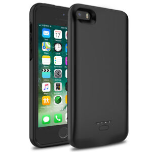 For iPhone 5 5s 5c Ultra Thin Extended Battery Charger Case Power Bank