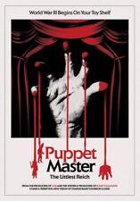 PUPPET MASTER: THE LITTLEST REICH 4K ULTRA HD DISC ONLY | REGION FREE | HORROR