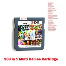 208in 1 Multicart Vedio Game Cartridge for NS Switch DS NDS NDSL NDSI 2DS 3DS BM