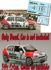 C018 Decal 1:43 Jose Maria Ponce - RENAULT CLIO - Rally Adeje 1994