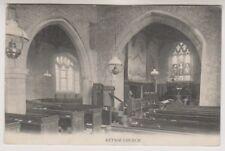 Bedfordshire postcard - St Mary the Virgin Church, Keysoe - P/U 1908 (A36)