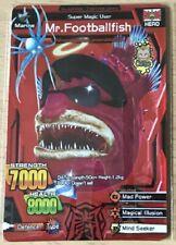 Strong Animal Kaiser Evolution (SAKE) Ver 5 Special Rare Card - Mr Footballfish