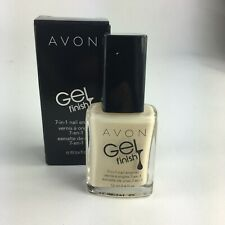 Avon Gel Finish 7-in-1 Nail Enamel - Crème Brullee - Polish - *Gel Nails* - NEW