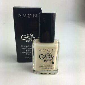 Avon Gel Finish 7-in-1 Nail Enamel - Crème Brullee - Polish - *Gel Nails* - NEW
