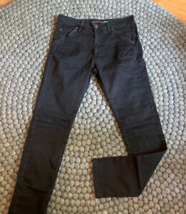 Please P85A Boyfriend Hose Jeans TOP lässig Gr. XXS wie XS Schwarz Used LOOK Top