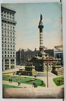 Cleveland Ohio Greetings Soldier's and Sailor's Monument udb Postcard D13