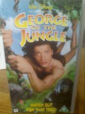 VHS PAL George of the Jungle  + George of the Jungle 2