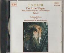 C.D.MUSIC  D376  J.S.BACH: THE ART OF FUGUE VOL.2   CD