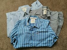 HOLLISTER MEN'S 3 CASUAL SHIRTS 'L' BRAND NEW