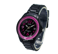 -Casio LX500H-1B Ladies' Analog Watch Brand New & 100% Authentic