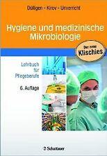 Hygiene und medizinische Mikrobiologie: Lehrbuch für Pfl...   Buch   Zustand gut