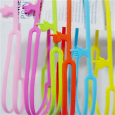 1Pcs Silicone Bookmarks Note Pad Memo Stationery Book Mark Novelty Funny Gift