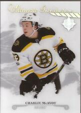CHARLIE McAVOY 2017-18 UD Ultimate Introductions Boston Bruins