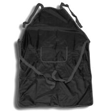 Professional Darkroom Apron. Rubber Backed, Chemical Proof. High Quality, Black.