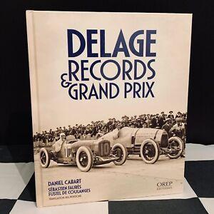 DELAGE RECORDS & GRAND PRIX 1922-1925 BOOK NEW DANIEL CABART DF GS DJ 8S8 DH 2LC