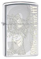 ZIPPO LIGHTER SOA REAPING HIGH POLISH CHROME (98957) GIFT BOXED / AU STOCK !