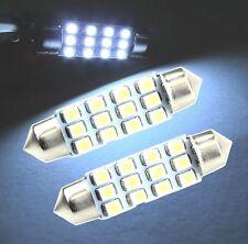 42mm White LED Festoon 12smd 3528 1210 Dome Interior Festoon Bulb SUPER BRIGHT