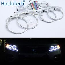 For Kia Sorento R 2009-2012 Multi-color Led Angel Eyes Kit Halo Rings Light DRL