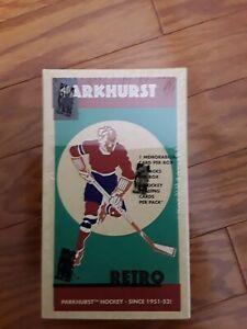 2002-03 Parkhurst RETRO Hockey Hobby Box - Lemieux Inserts Jersey Autographs ??
