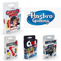 Range of Card Games from Hasbro Gaming based on family board games NEW & SEALED