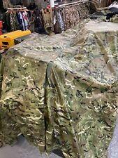 NEW BRITISH ARMY MTP BASHA ,TARP SHEET SHELTER PONCHO WATERPROOF STRETCHER