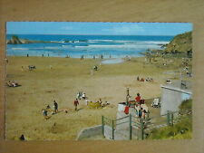 OLD POSTCARD OF BUDE - THE SANDS
