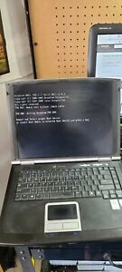 Gateway M520 Laptop Intel Tested Boots No Hard Drive With Power Adapter