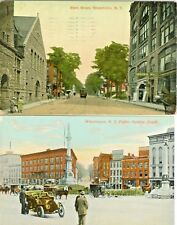 Watertown NY The Bijou and Dining Hall on State Street & Public Square Set