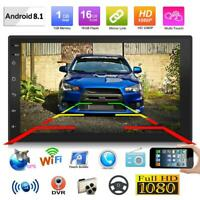 """Doppel 2Din Android 8.1 7 """"Quad Core Auto Stereo MP5 GPS FM Radio WiFi BT"""