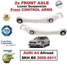2X Eje Delantero Suspensión más Baja Brazos de Control para Audi A4 Allroad