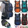 50/60L Outdoor Hiking Backpack Waterproof Camping Rucksack Travel Trekking Bag